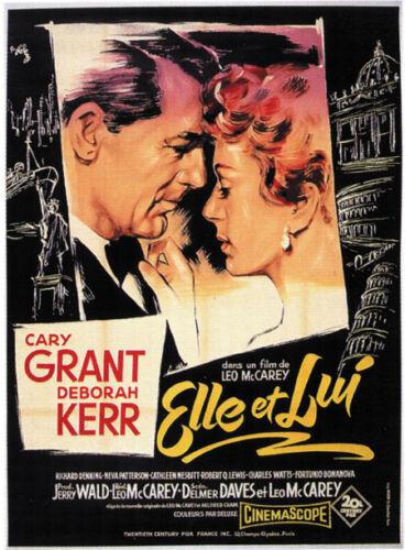 An affair to remember Cary Grant Deborah Kerr poster #2
