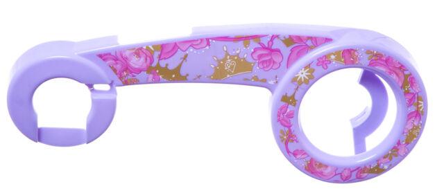 "PINK and BLUE Design NEW FLOWER FLEUR KIDS Bike CHAIN GUARD for 12/"" WHEELS"