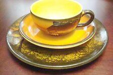 Eva Zeisel MAJOLIKA SMF Schramberg Gobelin 4 TRIOS cup,saucer,plate,/creamer72]