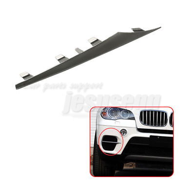 Genuine BMW X5 Front Left Bumper Lateral Grill Trim Molding 51117222847