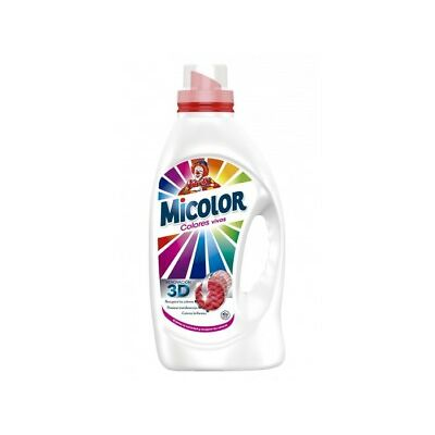 Micolor Gel Detergente Normal Colores Vivos 1L (23 dosis)