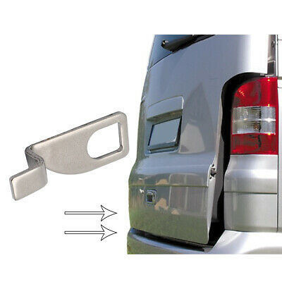X AUTOHAUX Car Tailgate Holder Bracket Standoff Fresh Air Vent Lock Extension Hook for VW T5 Bus California Camping Multivan