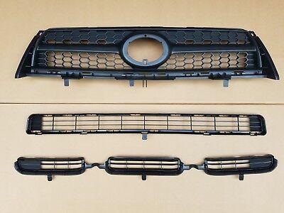 Front Bumper Upper Grill Fits TOYOTA RAV 4 III BASE SPORT 2009-2012