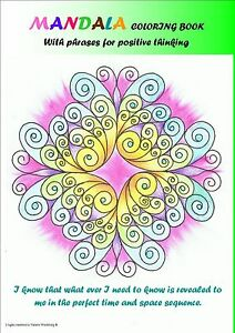 Image Is Loading Coloring Book Mandala 30 Mandalas PDF File With
