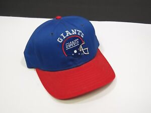 Image is loading Vintage-Blue-and-Red-Giants-Snap-Back-Cap- e505630c7be