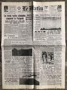 N11-La-Une-Du-Journal-Le-Matin-11-Aout-1942