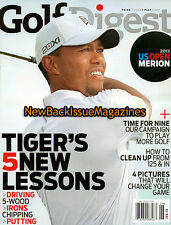 Golf Digest 6/13,Tiger Woods,June 2013,NEW