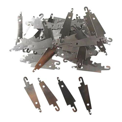 Hilo de OJO Grande De Metal Enhebrador mano bordado de costura Artesanía Herramienta 5//10 piezas
