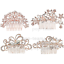 4pcs-Crystal-Pearl-Wedding-Bridal-Hair-Combs-Band-Accessories-Bride-Hair-Jewelry thumbnail 9