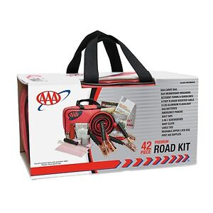 Details about AAA 42 Piece Emergency Road Assistance Kit , New, Free  Shipping