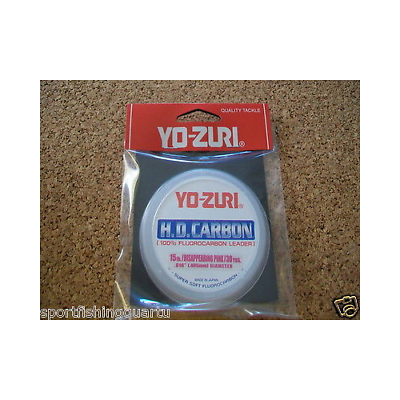 Fluorocarbon Hd Yo-zuri 15lbs 6.8kg 0.405 Mm 28mt Color Pink Made In Japan