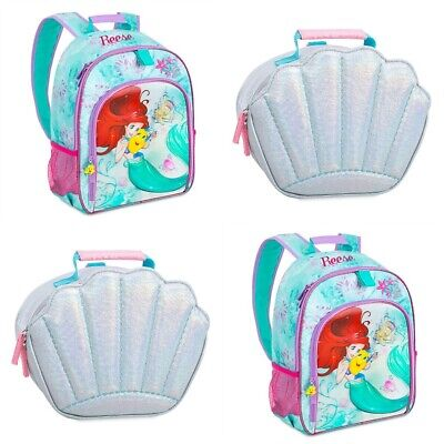 Disney Store Little Mermaid Ariel Swim Backpack Bag Girls Princess Tote NEW