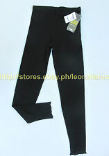 42% OFF!CHARLOTTE RUSSE ANKLE LACE-TRIM STRETCH BLACK LEGGINGS SMALL BNWT $10.99