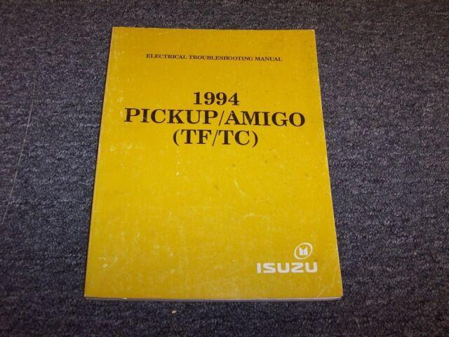 1994 Isuzu Pup P U0026 39 Up Pickup Truck  U0026 Amigo Suv Electrical