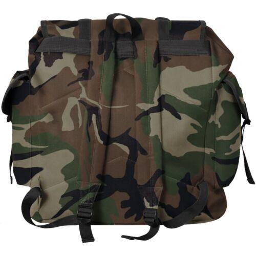 Mochila Militar Impermeable Capacidad 40LColores Negro//Verde//Camuflaje45x21x50cm