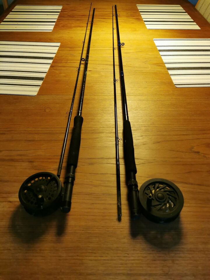 Fiskestang, Thompson og daiwa