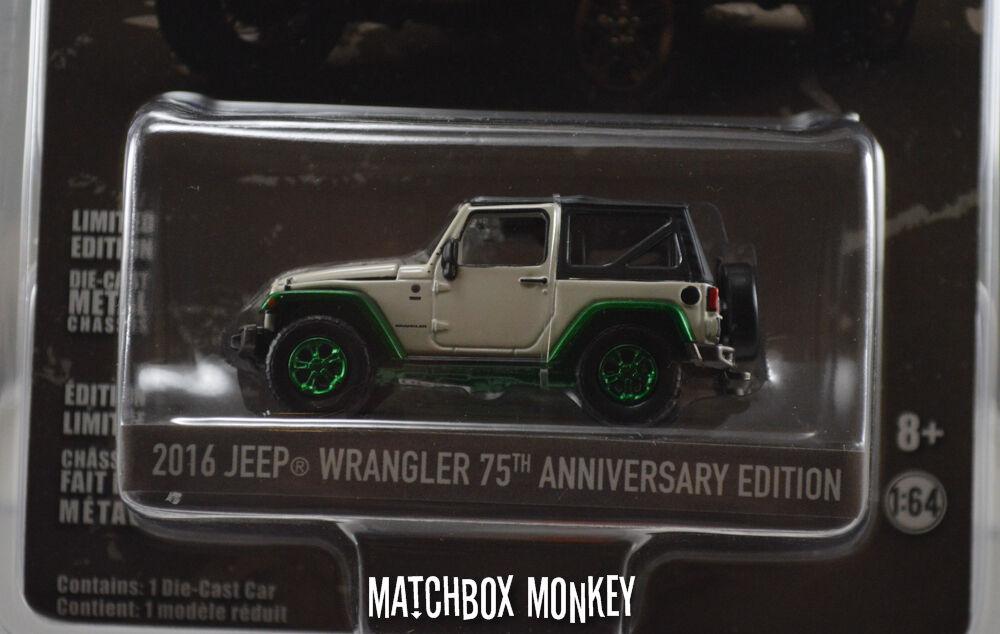 Luz verde Máquina verde 2016 Jeep Wrangler 75 Aniversario Super Low