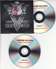 Vampire Records Presents Identity Switch UK 26-trk promo test 2-CD Phil Source