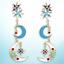 US-Seller-Betsey-Johnson-Star-Moon-Planet-Earrings-Pearl-Multi-color-Dangle thumbnail 23