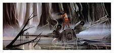 STAR WARS MCQUARRIE EMPIRE - 50 X 15 CM - ILLUSTRATION N°15 PORTFOLIO - VINTAGE