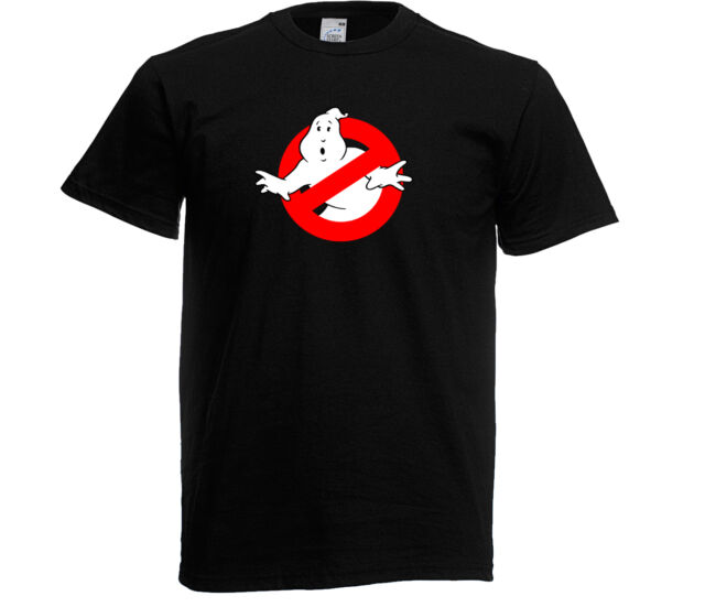 Glow in the Dark Ghostbusters Logo Enfants T-shirt, taille 3 ans-XXL Bouffe-Tout & Stay Puft