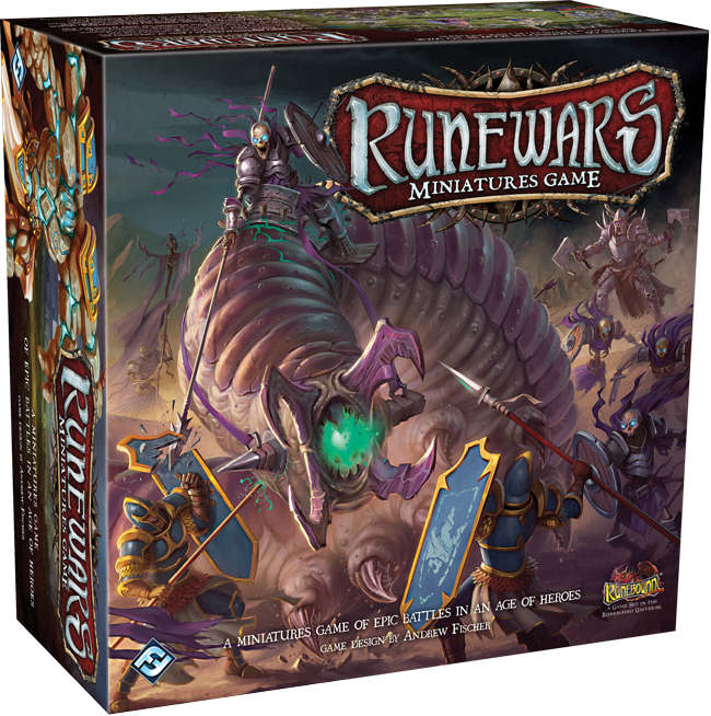 MW  RUNEWARS THE MINIATURES GAME CORE SET -ENGLISH-   FANTASY FLIGHT GAMES