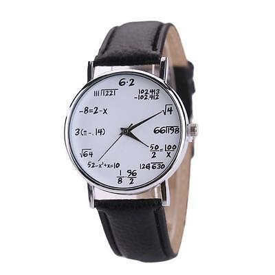 Men Women Watch Leather Stainless Steel Sports Casual Watch Quartz Wrist Watch