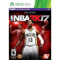 Xbox 360 Nba 2k17 Brand Factory Sealed