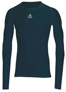 Adidas-Techfit-Shirt-navy-blau-Laufshirt-Trainingsshirt-Gr-S-XL-XXL