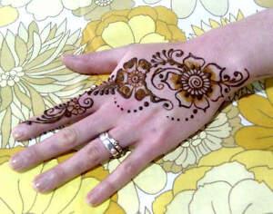 Henna Tattoo Kits Uk : Mix your own natural henna tattoo beginners kit powder oil