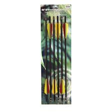 Crossbow Arrows 20 Inch Aluminum Bolts Barnett Arrow Broadheads Half Moon Nocks