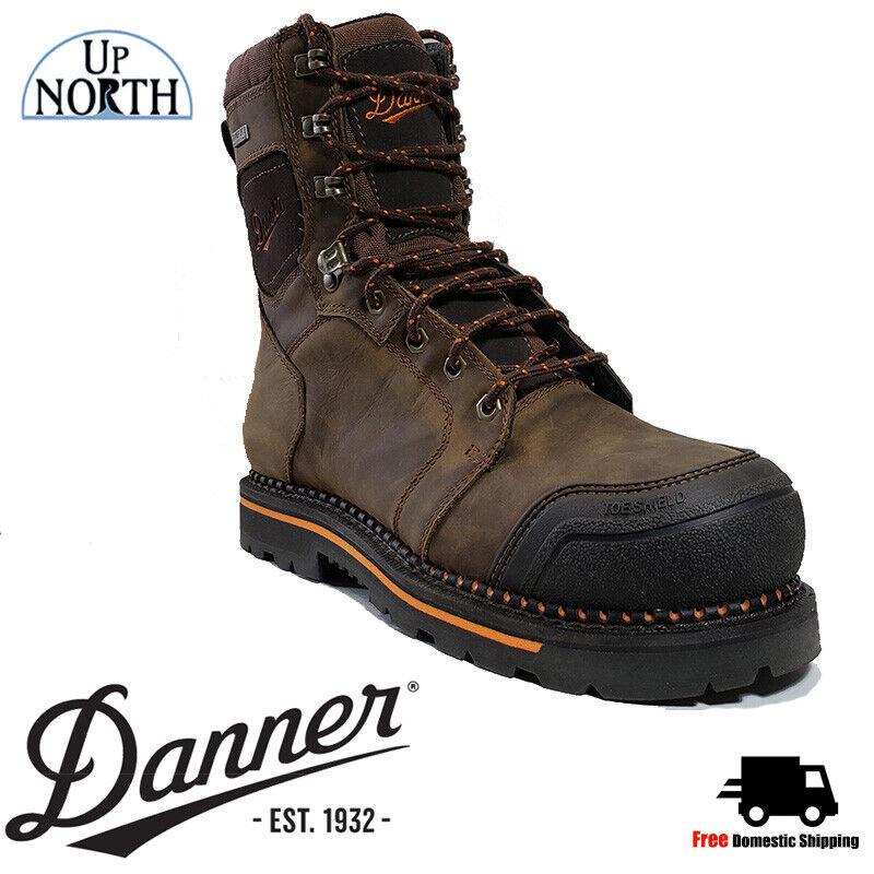New  Danner Trakwelt (13243), Comfortable Composite Toe Mens Work Boots Wide
