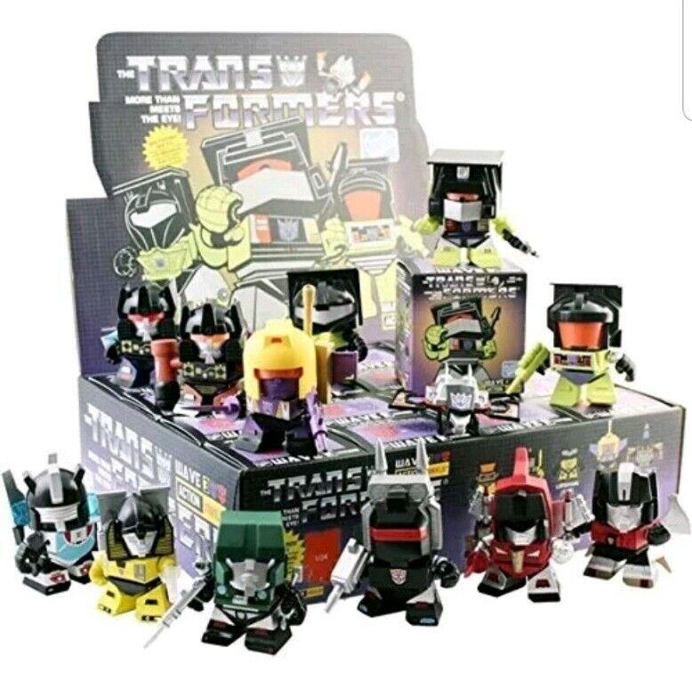 Transformers Loyal Subjects Serie Wave 3 Sellado ciego Caja x 16 Nuevo Estuche Completo