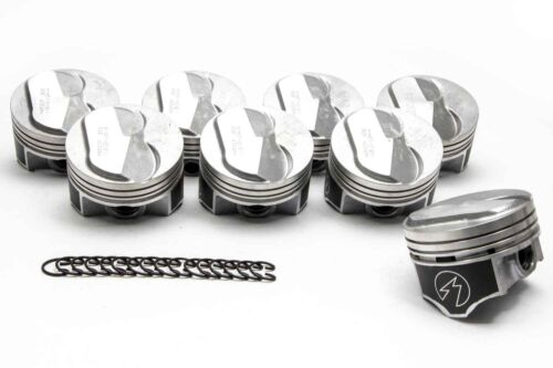 Chevy 7.4//454 Speed Pro Hypereutectic Coated Skirt 22cc Dome Pistons Set//8 .040