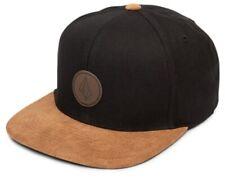 6ac48e3f0cb54 item 4 Volcom Quarter Fabric Snapback Cap Black Brown New -Volcom Quarter  Fabric Snapback Cap Black Brown New