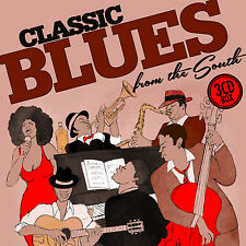CD Classic Blues From The South von Various Artists    3CDs