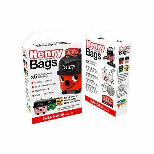 NVM-1CH 10x Poussière Sacs Pour Aspirateur NUMATIC HENRY HENRY HVR200 Henry HVR200-12 type