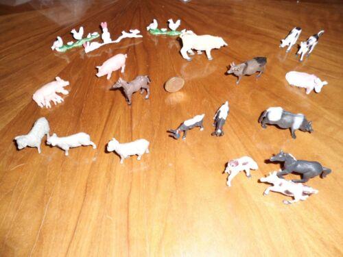 Bauernhof Tierfiguren Spielzeug ab 3 Jahre 40 Stück