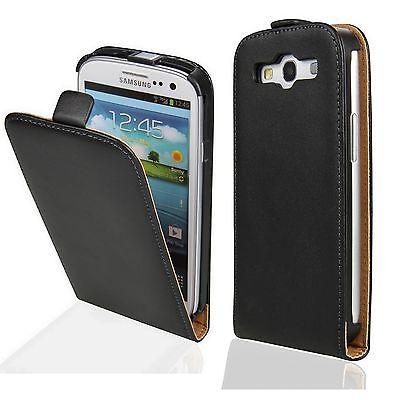 Handy Tasche für Samsung Galaxy Cover Schutz Hülle Klapp Etui Flip Case Qualität