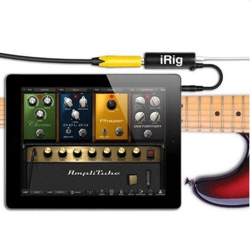 Gitarrenschnittstelle IRig Konverter Ersatzgitarre für Telefon Neu A2T1 ZR
