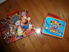 Kid Lunch Tins Chuck E Cheese & Bakugan Great condition