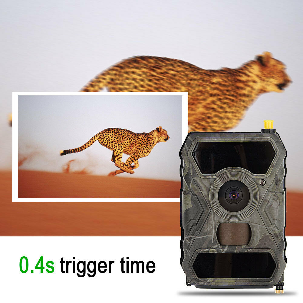 Hunting Camera 12MP 940NM 1080P Scouting Video 20m  IR Trail Cam 3G Wireless GL  online shopping sports
