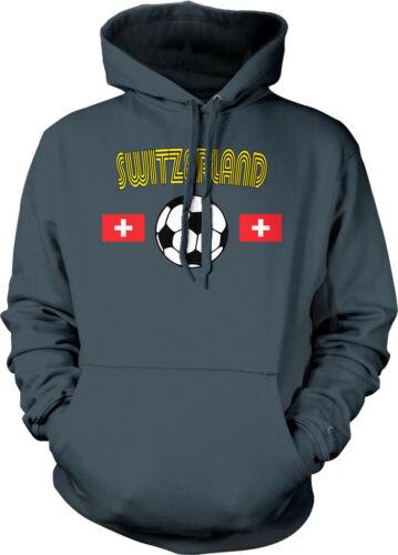Switzerland European National Soccer Team Schweizer Nati Hoodie Pullover
