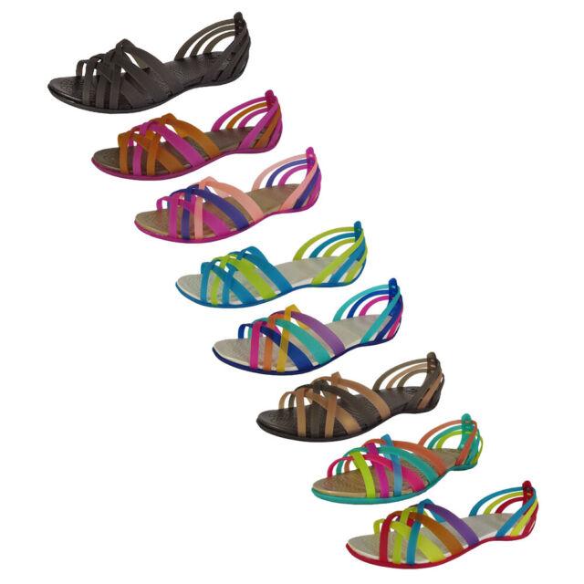 Crocs Womens Huarache Flat Open Toe