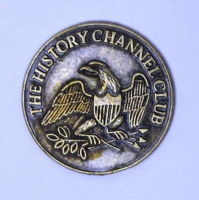 The History Channel Club Token - 1776, Eagle, Liberty Bell