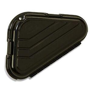 PLANO-single-pistol-hard-triangle-pastic-black-case-lockable-foam-padded-1421-S