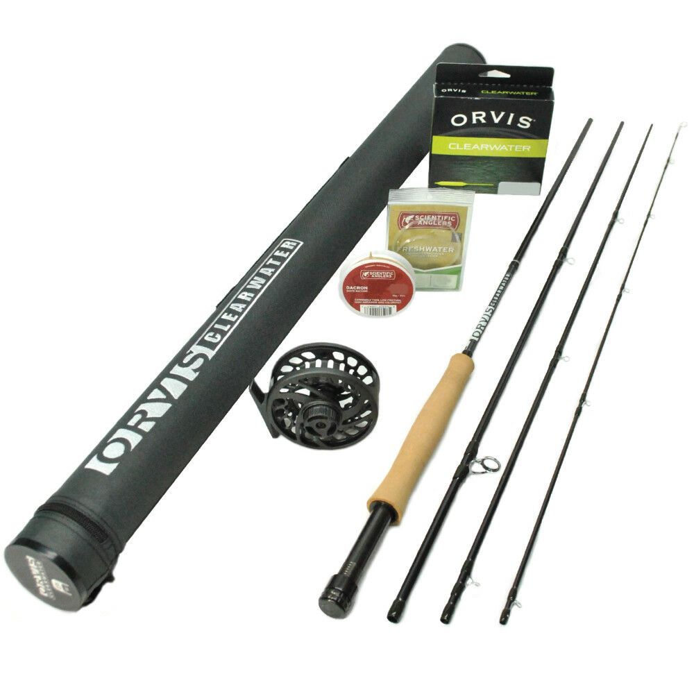 2019 Orvis Clearwater 763-4 Fly Rod Outfit    7'6  3wt  the most fashionable