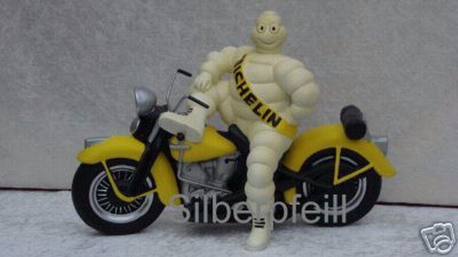 Deco personnage MICHELIN male harley davidson moto Publicité Personnage Motorbike Rep