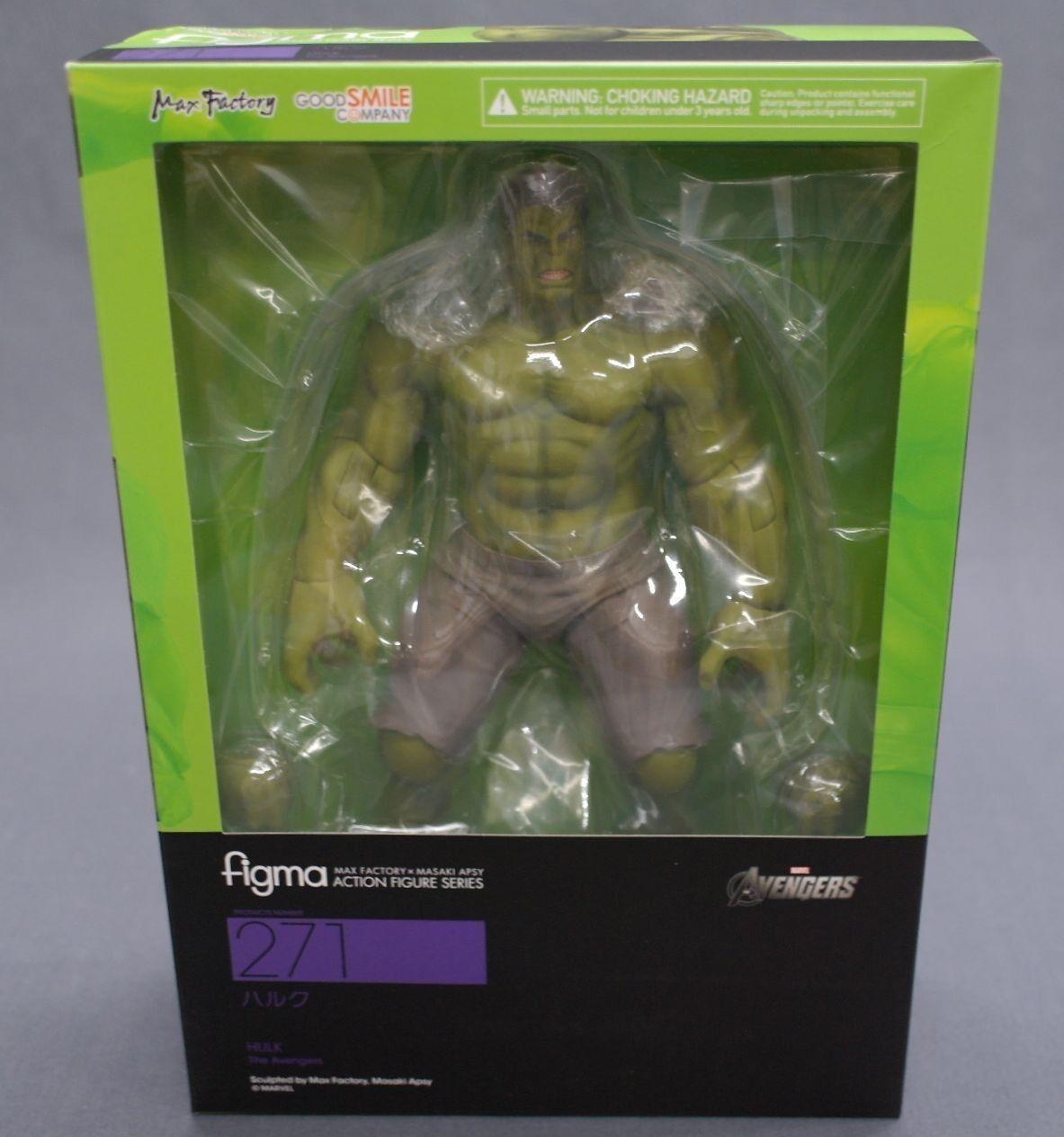 Figma Avengers Hulk Good Smile Company Japan NEW