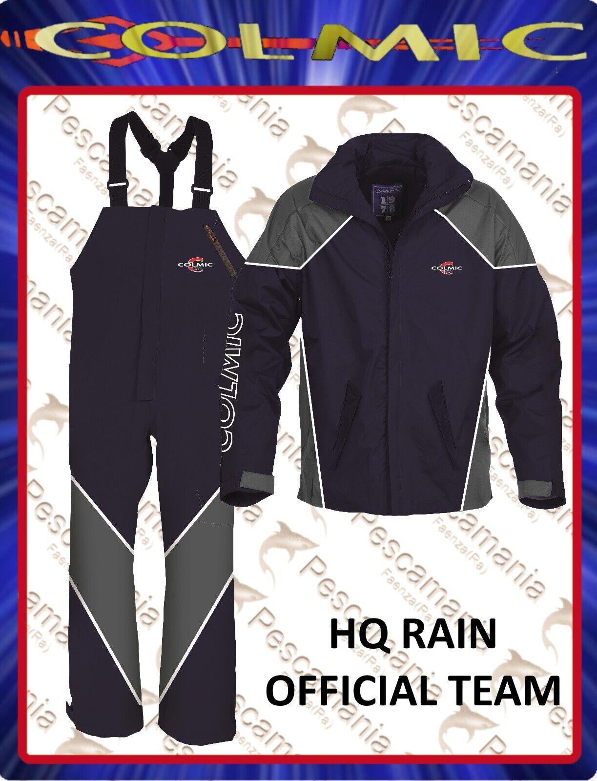 Completo anti pioggia Colmic HQ RAIN official team impermeabile traspirante